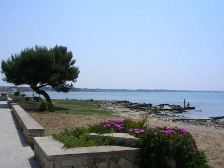 Spiaggia al centro di Porto Cesareo