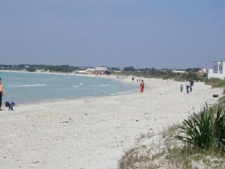 Spiagge a nord di Porto Cesareo