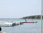 Barche ormeggiate antistante